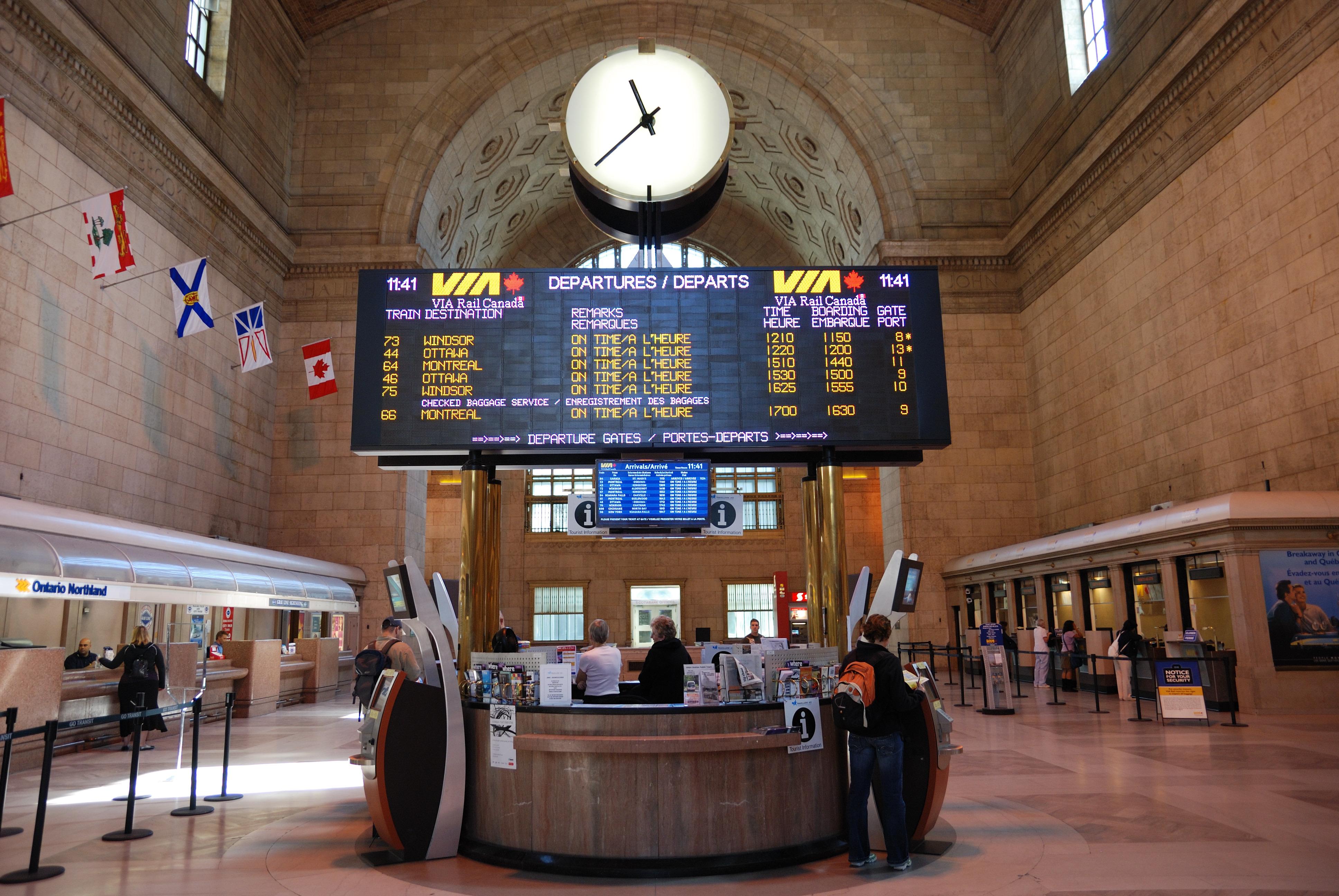 Hertz Car Rental Toronto Union Station